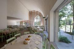 La sala ristorante